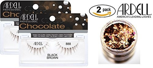 3676d79dbdc Ardell Professional Chocolate Lashes, 888 Black/brown (2-pac ...