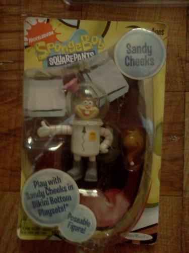 ardillita y accesorios sandy cheeks bob esponja trabucle