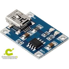 Arduino - Modulo Cargador Bateria L-itio Tp4056 S Micro Usb.