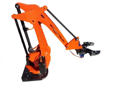 arduino brazo robotico robot educativo investigación kit 1 natrobot3d