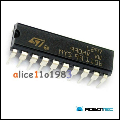 arduino controlador de motores chip ic l297 dip-20