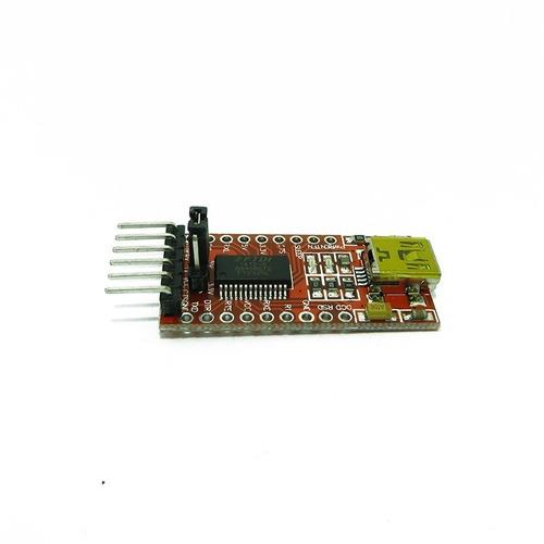 arduino conversor usb serial ft232rl ttl 5v 3v3 ftdi232-1