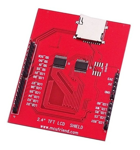 arduino display lcd tft 2.4 touch sd shield