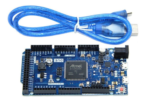 arduino due r3 at91sam3x8e arm 512 kb flash + cable usb