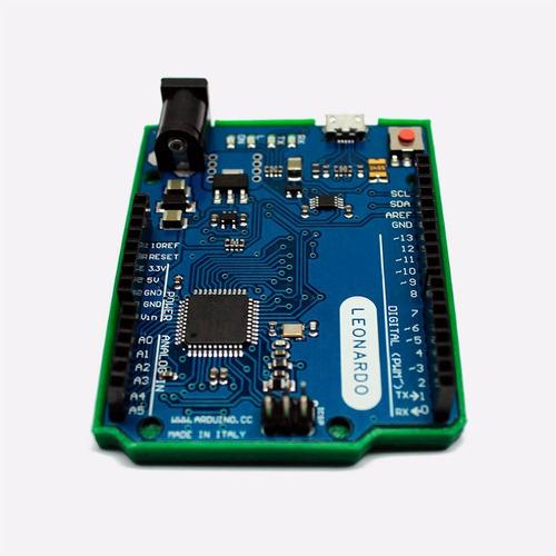 arduino leonardo compatible + holder + cable