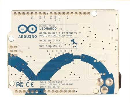 arduino leonardo with headers original en caja