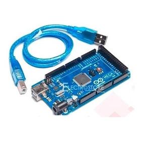 Arduino Mega 2560 R3 + Cable Usb Microcontrolador Original