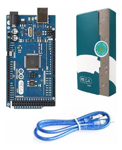 arduino mega 2560 r3 italiano original com cabo usb e caixa