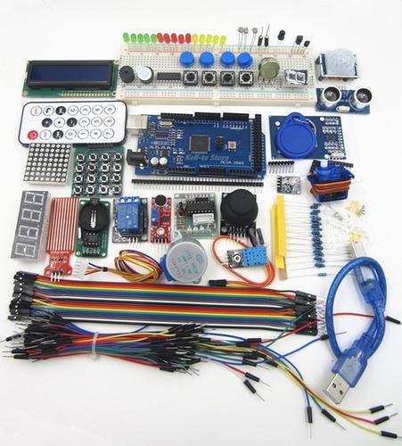 arduino mega 2560 r3 rfid sensor ultrasonico lcd ard00005