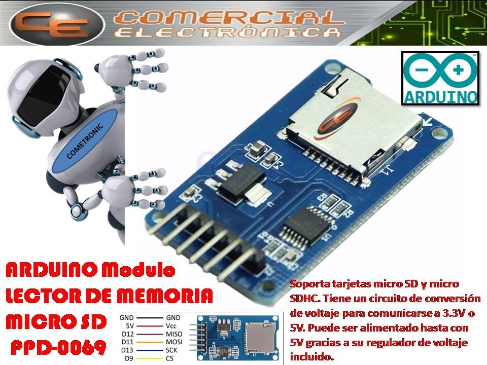 Arduino Módulo Lector De Memorias Micro Sd