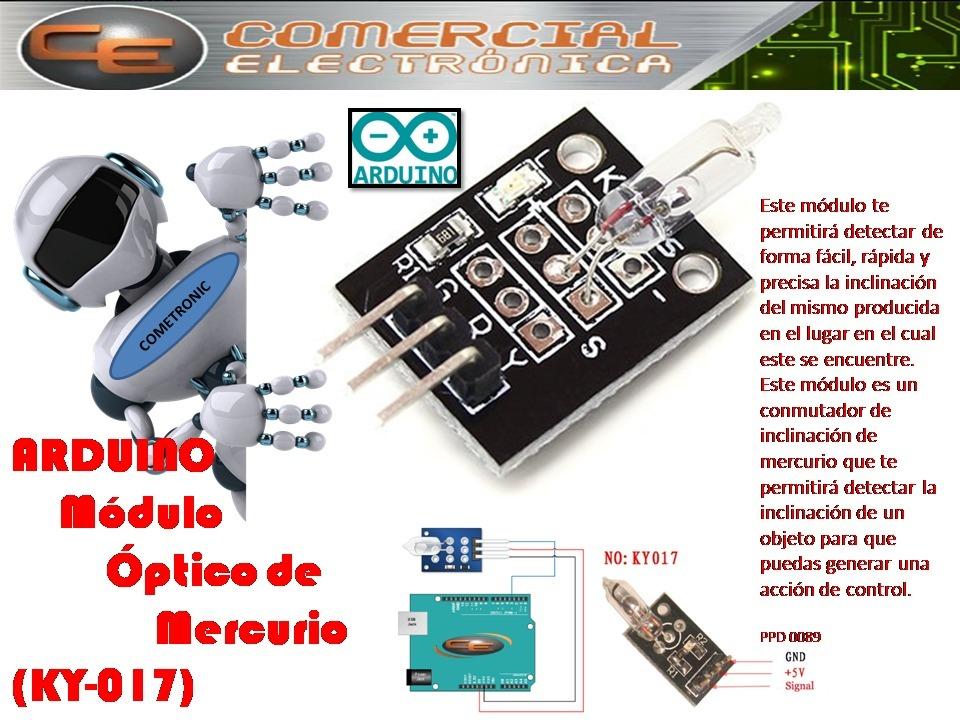 Arduino Módulo óptico De Mercurio Ky 017