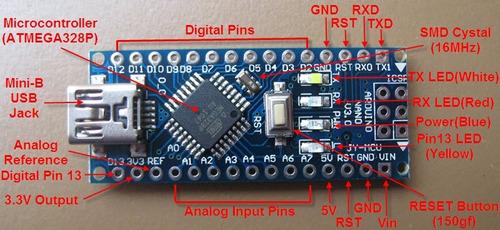 arduino nano cabo atmega pb não éesp32 nodemcu wifi esp8266