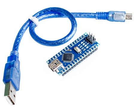 arduino nano v3.0 atmega 328p driver ch340 + cable usb