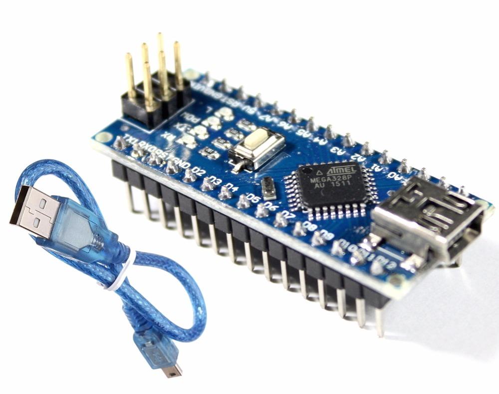 Arduino Nano V30 Cabo Usb Atmega328 Ch340g R 2090 Em Mercado Atmega 328 With Carregando Zoom