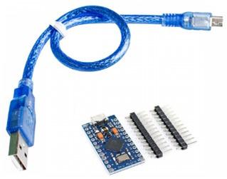 arduino pro micro 5v 16mhz + cable usb - tecmikro