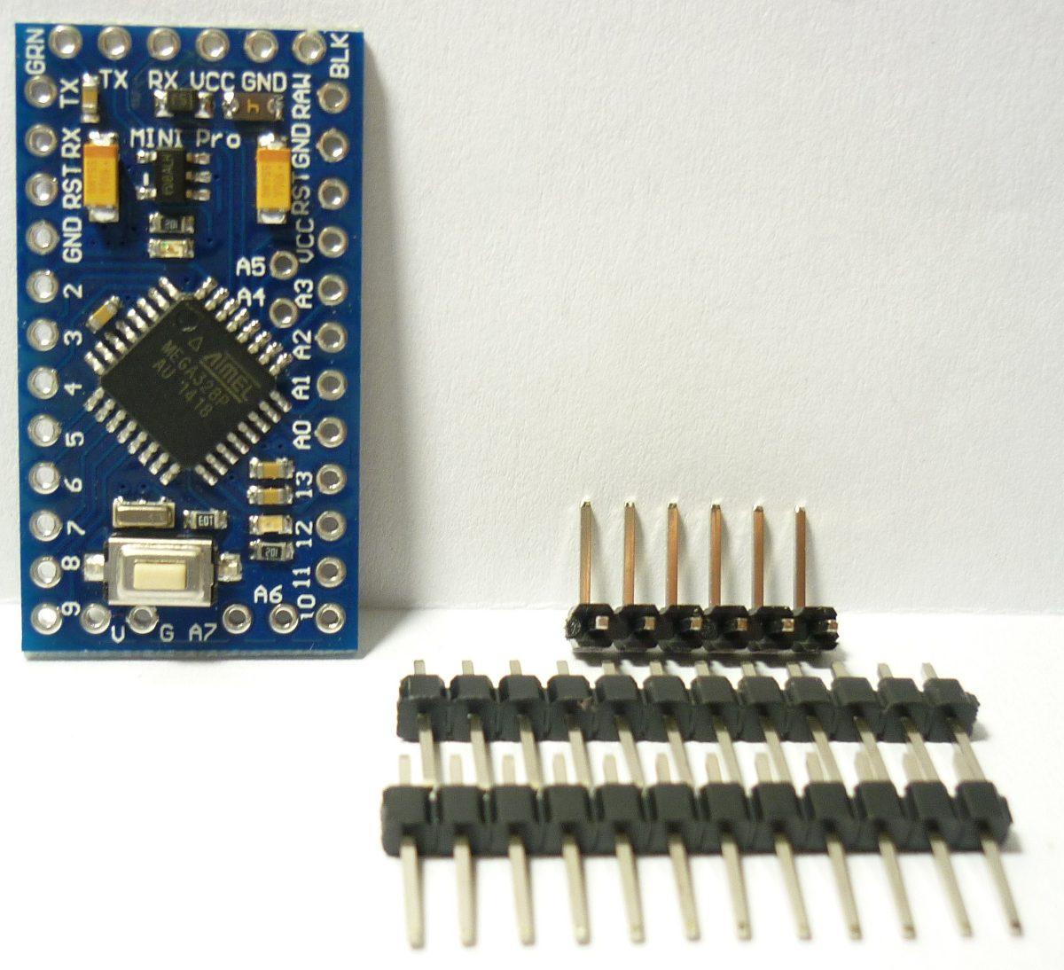 Arduino pro mini atmega v mhz solo o con kit