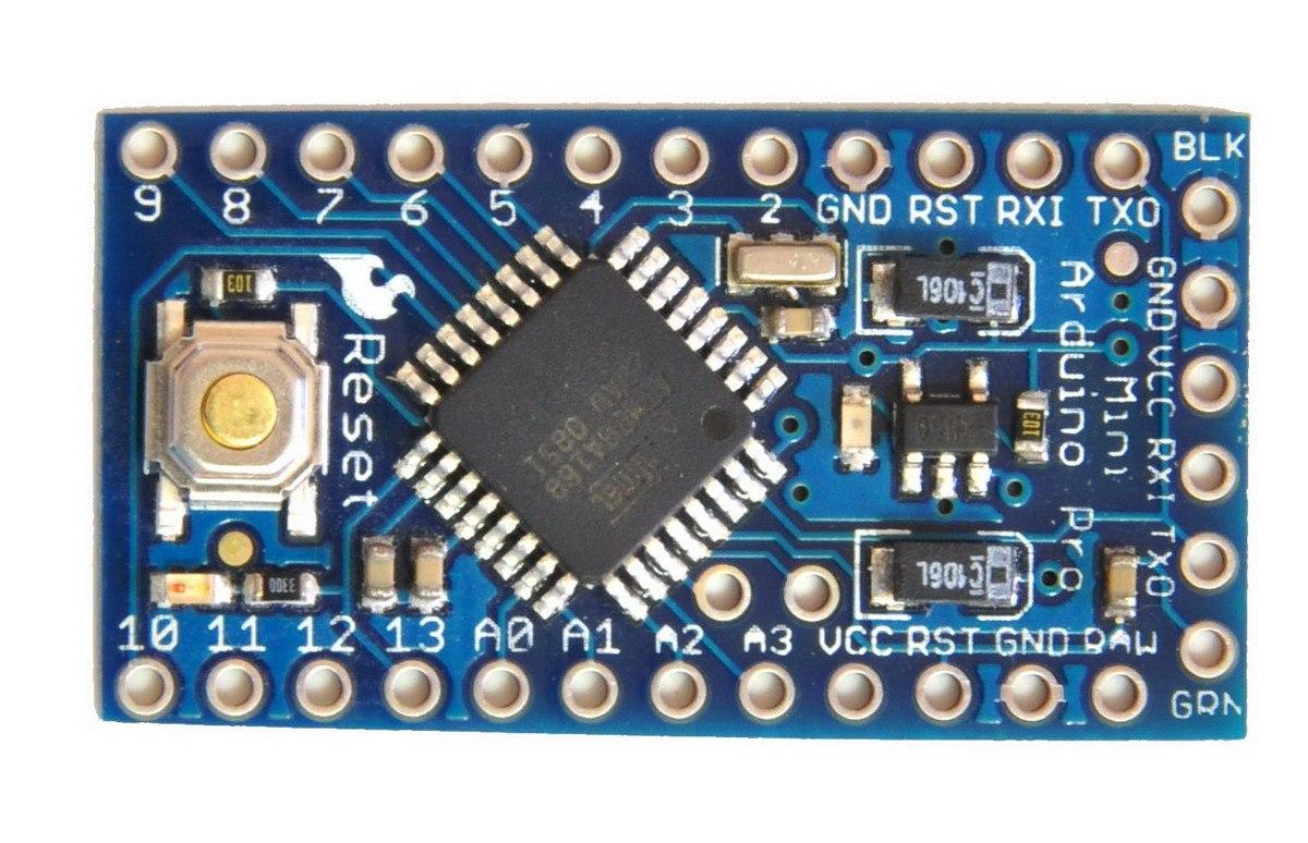 Arduino pro mini atmega a v mhz s en