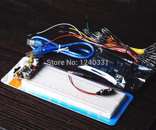 arduino protoboard regulador 5v display 8x8 driver bluetooth