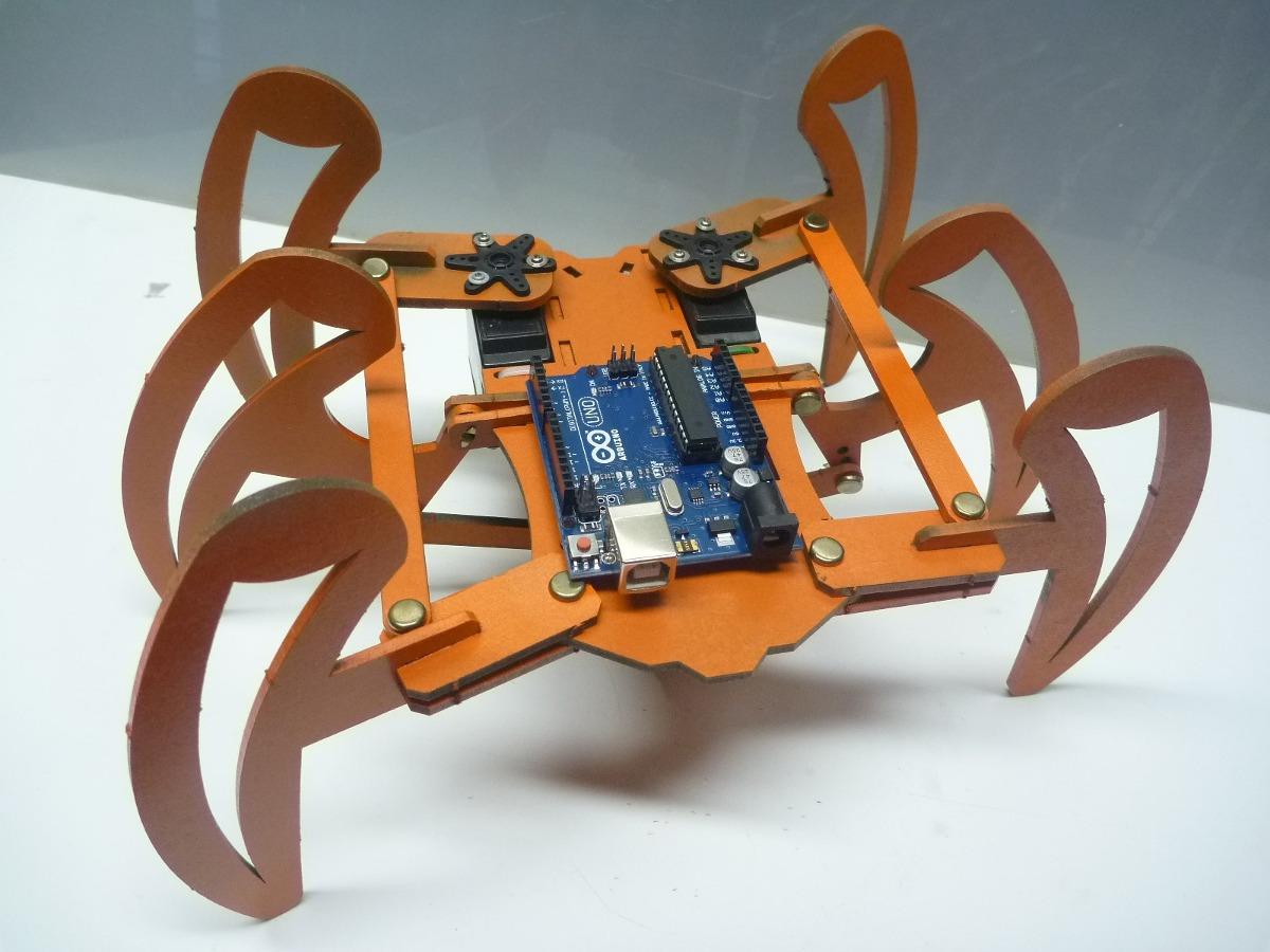 Arduino robot araña plantilla en mercado libre