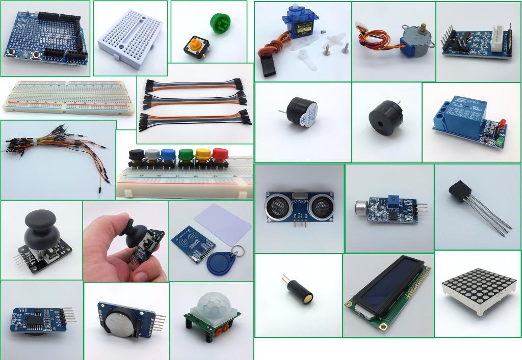 Arduino starter kit uno principiantes manuales envio