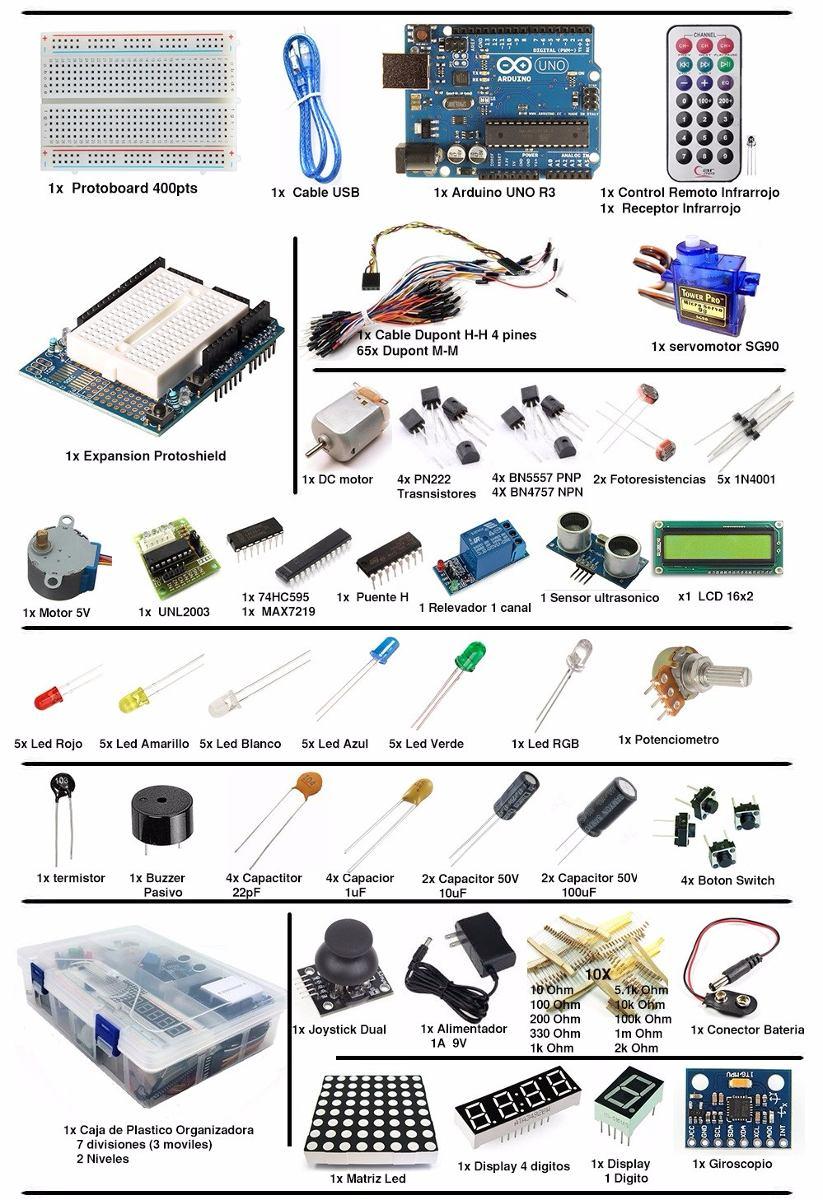 Arduino uno kit pro ultimate libro de proyectos pdf
