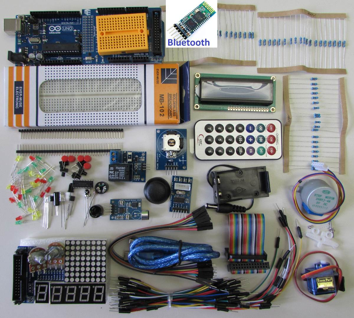 Arduino uno kit starter gratis envío bluetooth