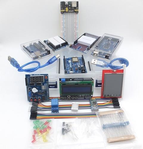 arduino uno, mega, wemos super kit shield proto libros msi