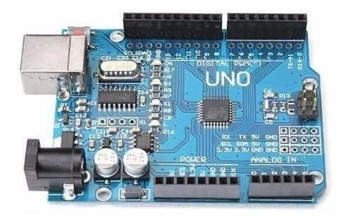 arduino uno r3 automação atmega328 compativel smd + cabo usb
