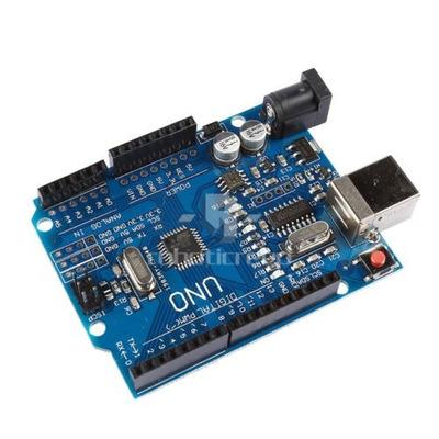 arduino uno r3  ch340g + cable usb + manual impreso