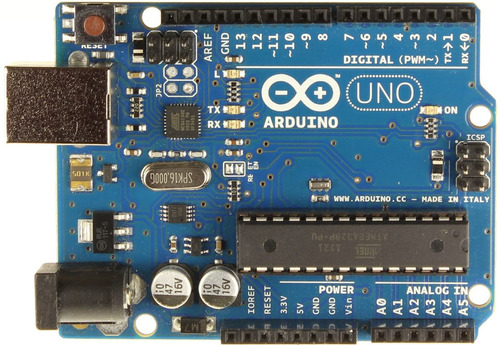 arduino uno r3, incluye cable usb