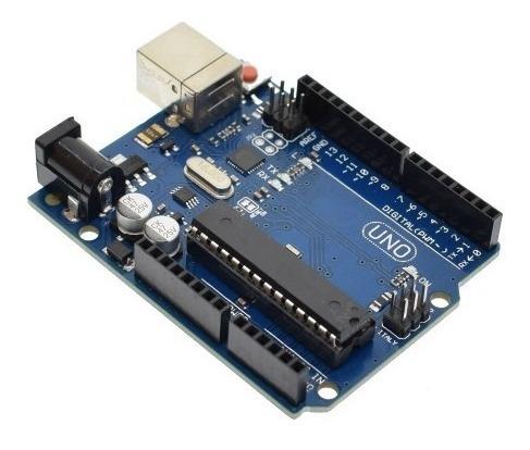 arduino uno r3 + leds y resistencias cable usb
