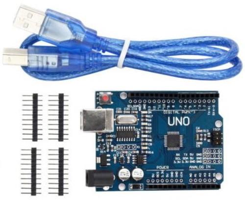 arduino uno r3 mega328p  ch340g compatible +  cable usb