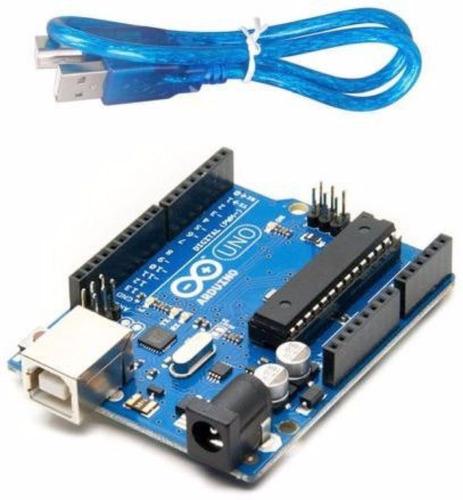 arduino uno rev3 | atmega328 dip (compatível) + cabo usb