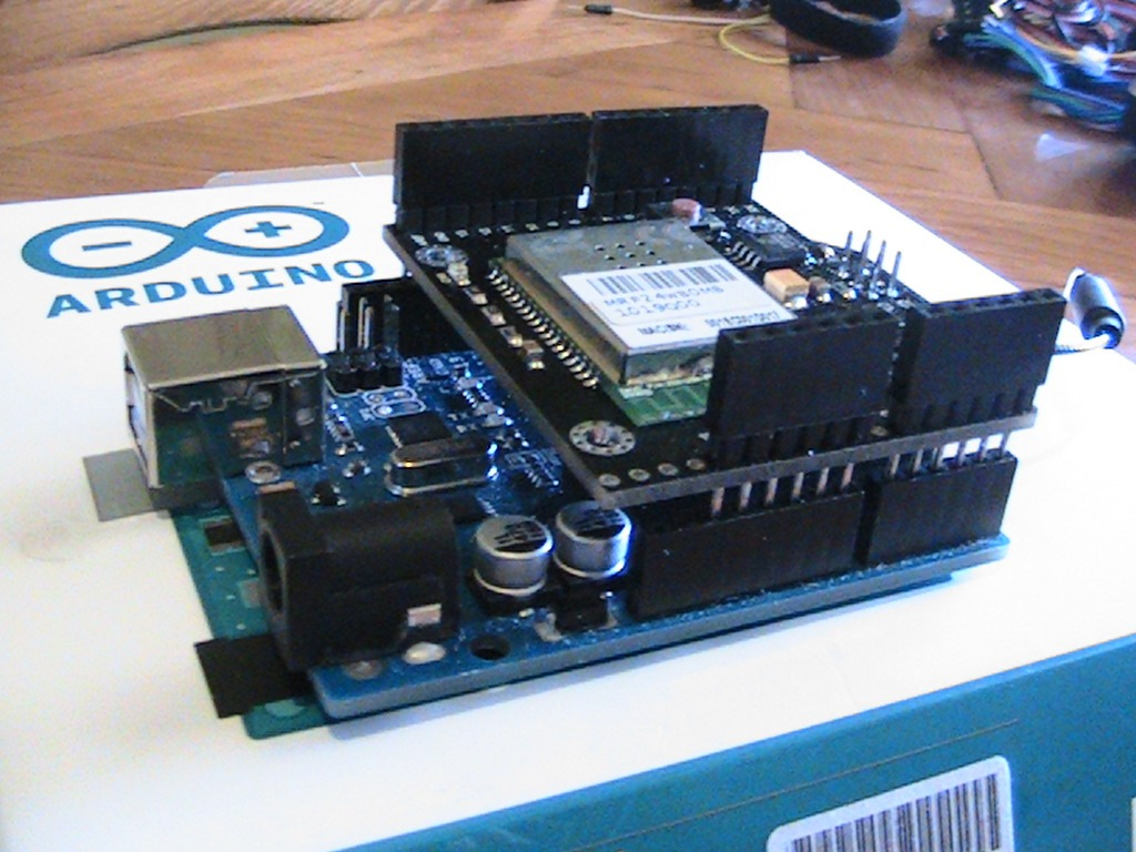 Arduino wifi shield excelente modulo para domotica