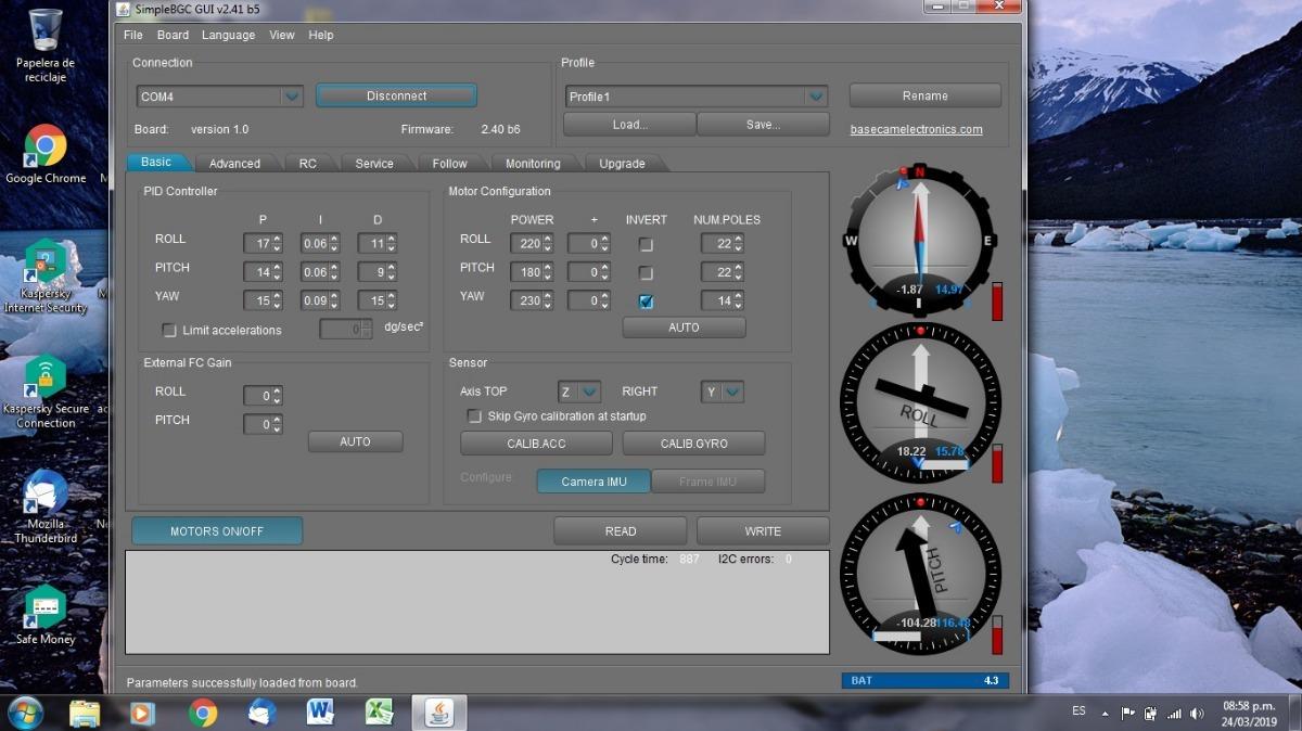 Ardupilot 2 5 2 + Controladora Gimbal Brushless P/drone - $ 10 000,00
