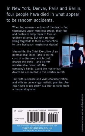 are you afraid of the dark ? - sidney sheldon - rincon 9