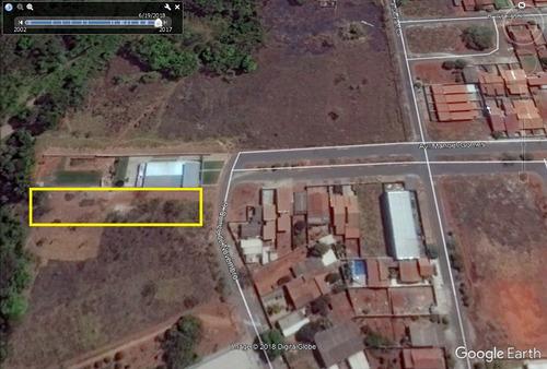 area 1.740m2 (asfalto e agua) setor santo andre