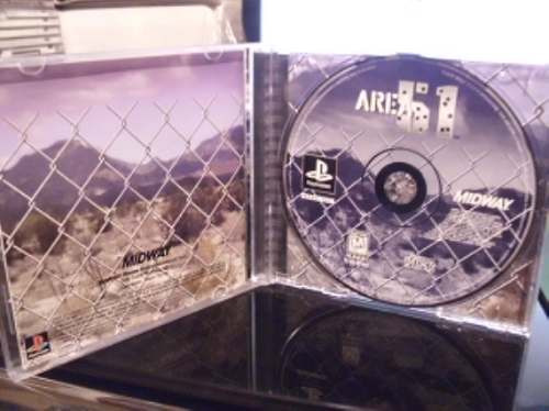 area 51 para ps one