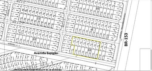 area 5.400m² (quadra da br-153) 5km centro aparecida