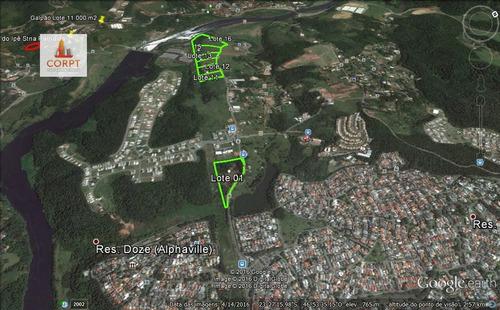 área a venda no bairro alphaville em santana de parnaíba - -
