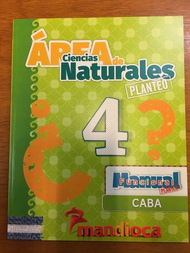 area ciencias naturales 4 caba  planteo - estacion mandioca