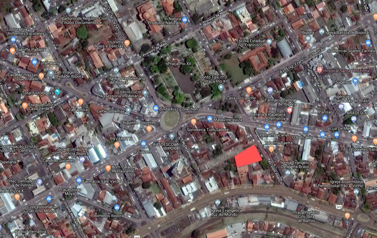 área comercial 1.152m2, centro, ibiporã/pr
