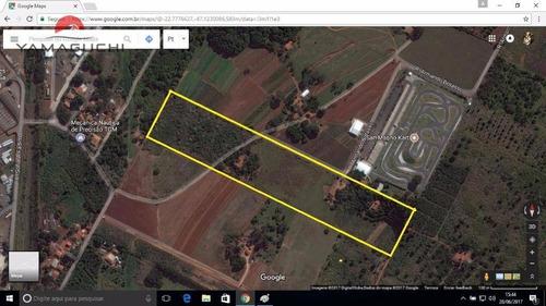área comercial e industrial à venda, com 61.800 m², em betel, paulínia. - codigo: ar0001 - ar0001