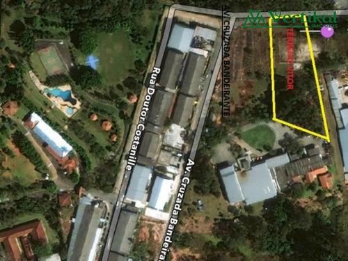 area industrial a venda, cotia vila jovina - v-2265