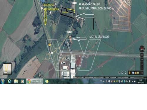 area industrial em araras - sp, falcão - ar00041