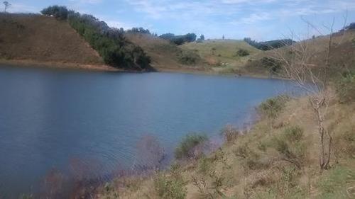área maravilhosa de 3.000m² para chácara de fte para represa
