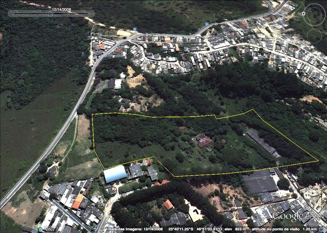 área para condomínio ou sítio