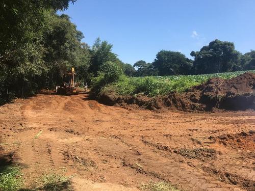 area para construir chacaras 1000 m2 a 2 km da rodovia j