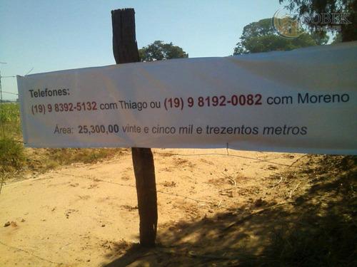 área residencial à venda, chácaras acapulco, nova odessa. - ar0012