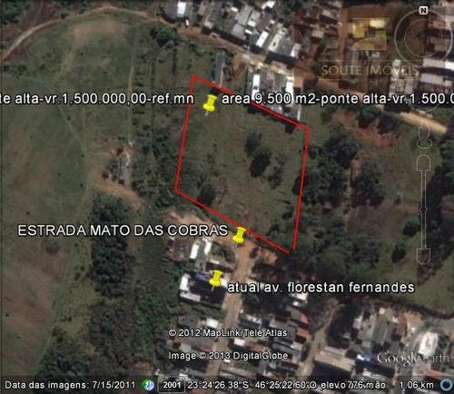 área residencial à venda, jardim ponte alta i, guarulhos. - codigo: ar0110 - ar0110
